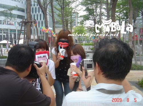 980805~蘋果日報拍攝幕後花絮