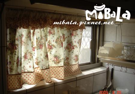廚房窗簾DIY