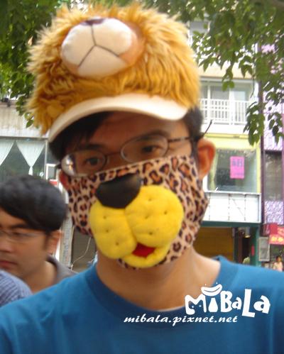 990227-波羅獅~感謝您特地從台南來到高雄市集找米芭菈唷^_^