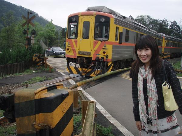 往大華的火車