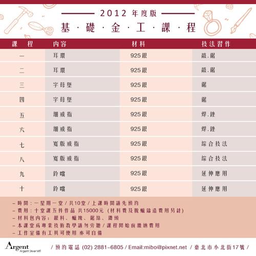 2012基礎金工課程介紹