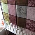 典雅韻味 CLASSICAL 圍巾、披巾(紫綠B)