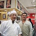 金澤車站握壽司店的店長  田中靖久  先生