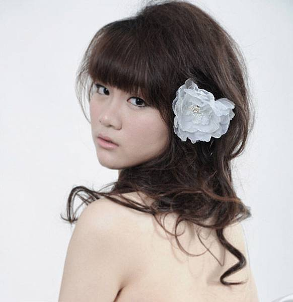 笛兒瑪麗飾品_頭花_Headdress flower