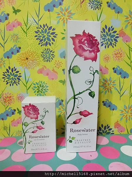 瑰珀翠薔薇玫瑰香水+瑰珀翠薔薇玫瑰保濕乳液