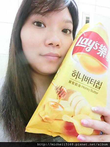 韓國超夯--樂事蜂蜜奶油洋芋片