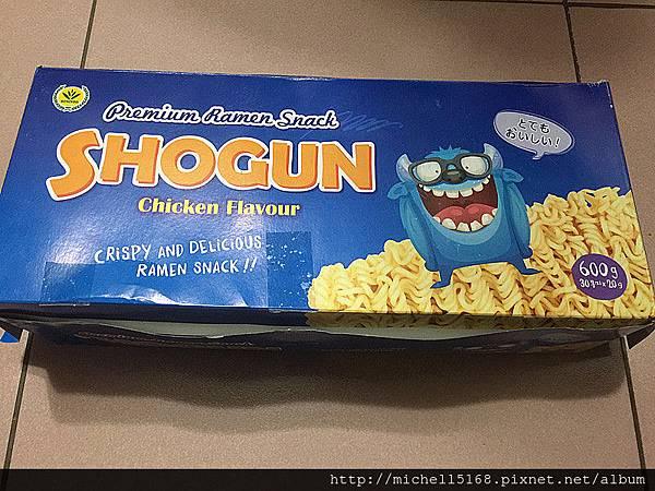 韓國 Shogun咔滋怪獸雞汁點心麵餅