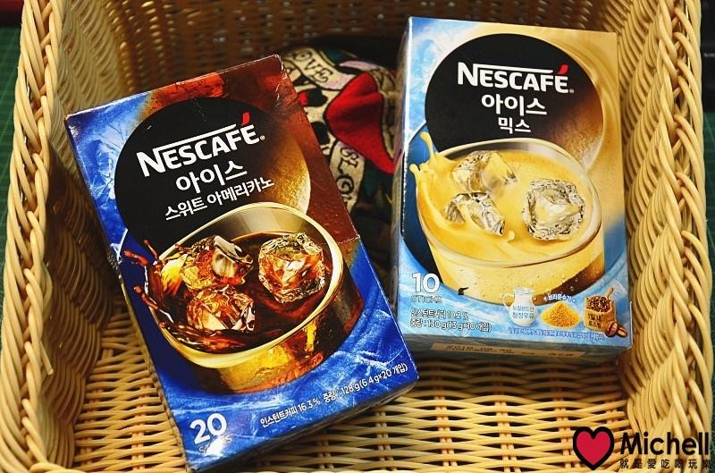 Nescafe雀巢咖啡:雀巢三合一冰咖啡/雀巢美式冰咖啡