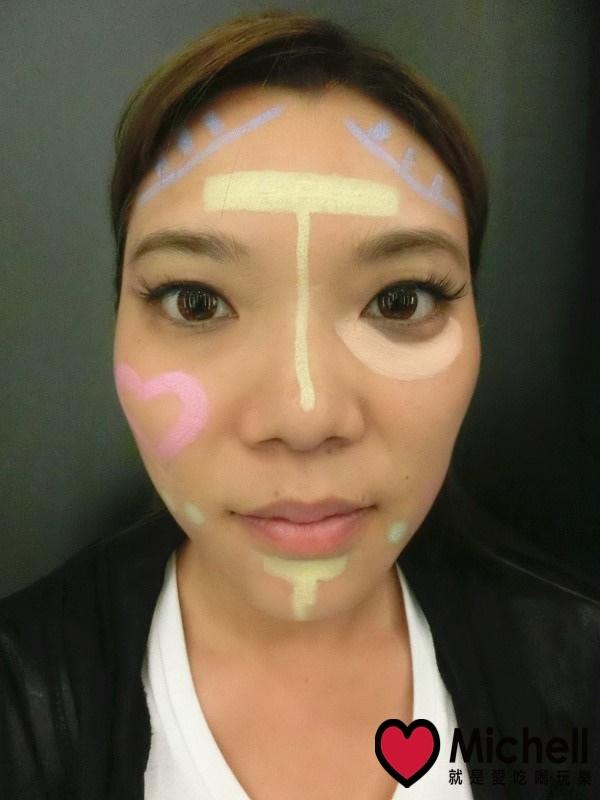 Miss Hana 花娜小姐 馬卡龍妝前校色飾底筆