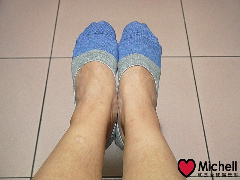 蒂巴蕾知足嚴選消臭抗菌隱形襪