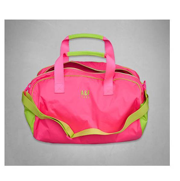 A&F Active Gym Duffle PINK