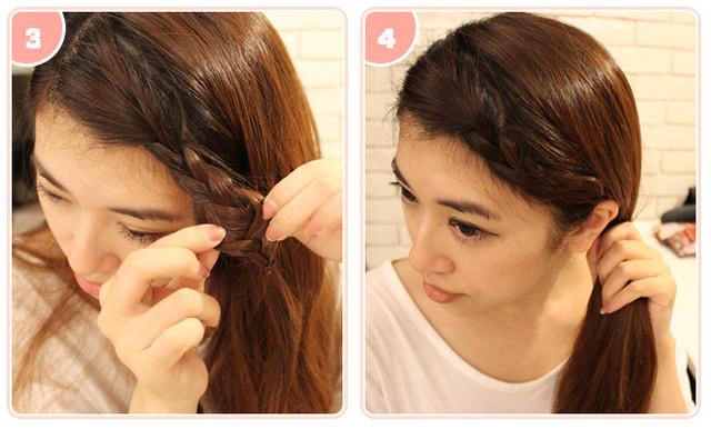 [髮型] 長髮姑娘必學! 超簡單夏日編髮 @ 米雪兒 Fashion Beauty Diary :: 痞客邦