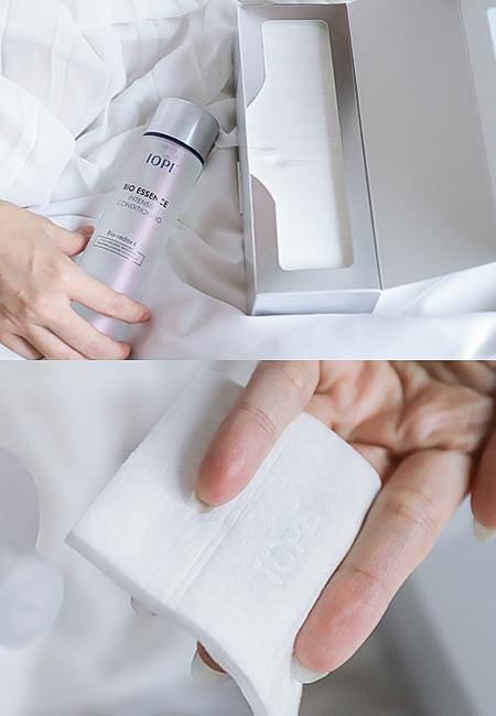 IOPE 神仙水(青春活顏菁粹)很適合用化妝棉來濕敷保養
