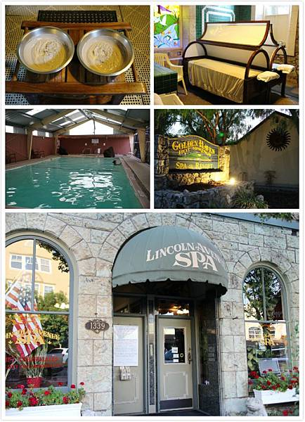 旅遊] Napa Valley 納帕放鬆泥巴浴溫泉之旅。Calistoga Lincoln Avenue ...