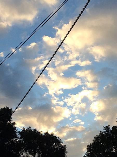 pretty sunset sky!