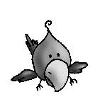 big head bird