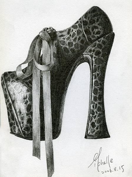 designer's shoe