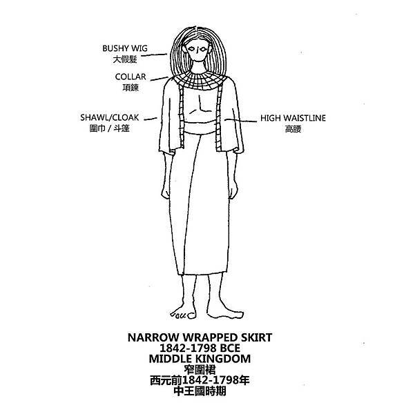 0034 Narrow Wrapped Skirt