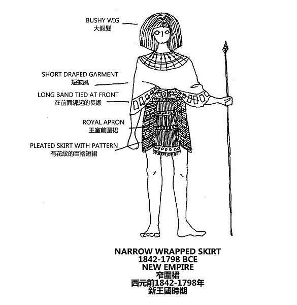 0039 Narrow Wrapped Skirt