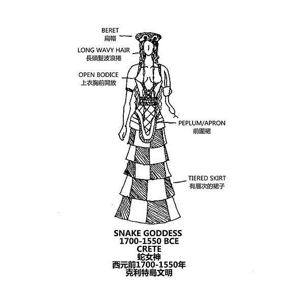 0054 Snake Goddess