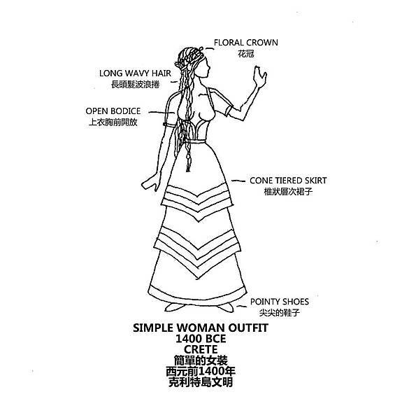 0055 Simple Woman Outfit