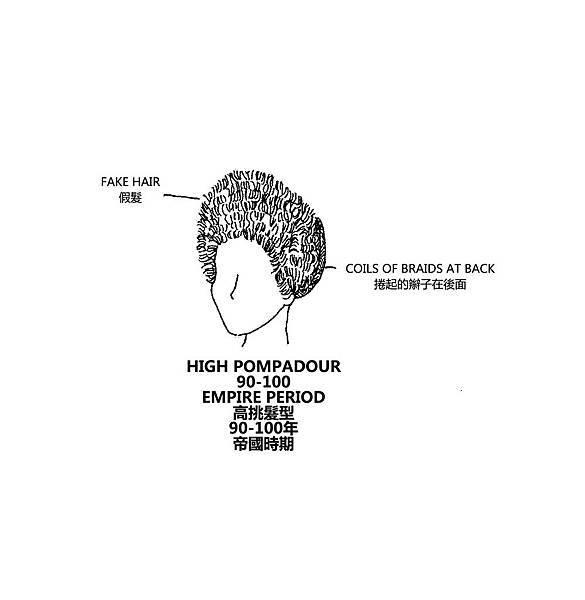 0086 High Pompadour