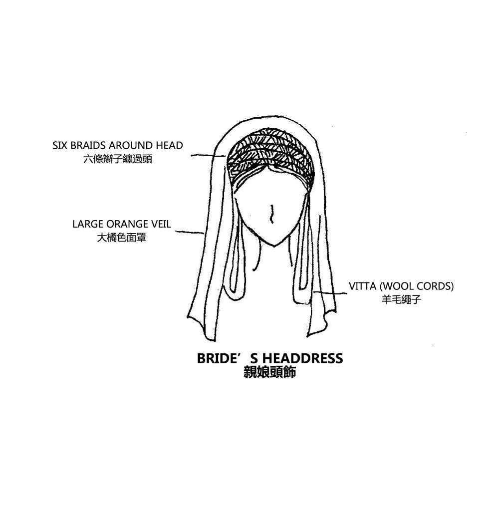 0087 Bride's Headdress