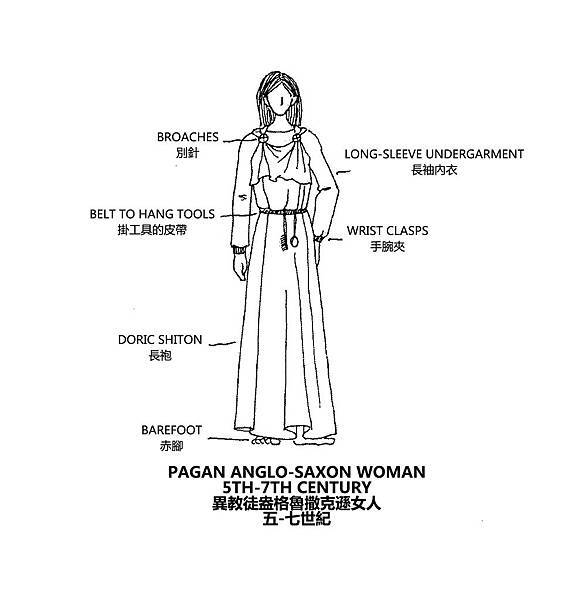 0108 Pagan Anglo-Saxon Woman