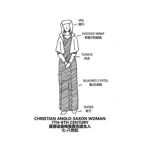 0109 Christian Anglo-Saxon Woman