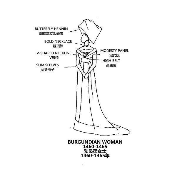 0145 Burgundian Woman