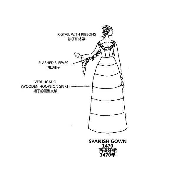 0146 Spanish Gown