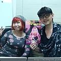 2011和陸蓉之老師看藝術紀錄片試片~推推!她還訂作了她偶像草間cos (1).JPG