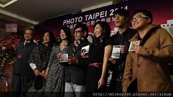 2011 1215 PHOTO TAIPEI名人公益攝影展開幕記者會 (1).JPG