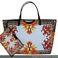 Givenchy Antigona shopping bag 帆布天堂鳥(黑橘) $35900