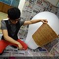 2012 5 為尊彩藝術中心二十年開展創作熱汽球:壽桃 (3)