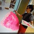 2012 5 為尊彩藝術中心二十年開展創作熱汽球:壽桃 (9)
