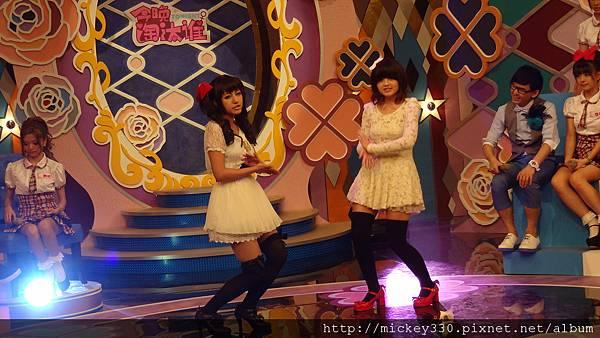 2012 6 15PM730 CHANNEL豆今晚淘汰誰~美眉都有精彩表演唷 (21)