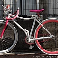 日本街頭總有繽紛物~多美的自行車