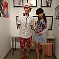 2012 7 31在人像專科攝影展會場對談與採訪與參觀 (3)