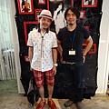 2012 7 31在人像專科攝影展會場對談與採訪與參觀 ~老潮流人一定聽過的常盤響!!!