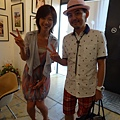 2012 7 31在人像專科攝影展會場對談與採訪與參觀~藝人?