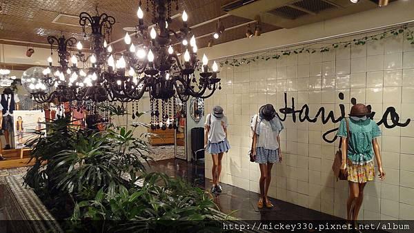HANJIRO店內處處復古華麗