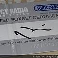 2012 9 奈良美智DOGGY RADIO X RIMOWA!最讚是說明書~最貴是只加印圖繪的箱子~小贈品也很好 (7)