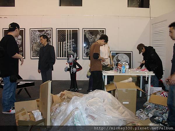 2006 visuall台北展品布展紀錄  (39)