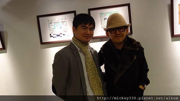2013 1 12以愛之名聯展開幕  (8)