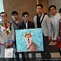 謝謝台灣新生代藝術家們聯手畫給我的太太太太珍貴啦 (1)