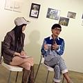 2013 4 20我的最愛聯展開幕與受訪 (8)
