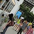 2013 7 26台中勤美術館周邊與綠圈圈夏日藝術祭~百聞不如一見~棒! (10).JPG