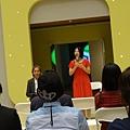 2013 1115高美館~動漫美學雙年展開幕記者會 (2)