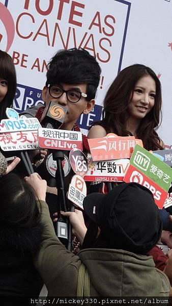 2014 3 10夏米雅記者會與rootote公益活動 (49)